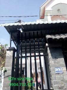 Thợ sơn sửa nhà tại quận 12
