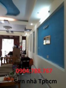 Thợ sơn sửa nhà tại quận bình thạnh