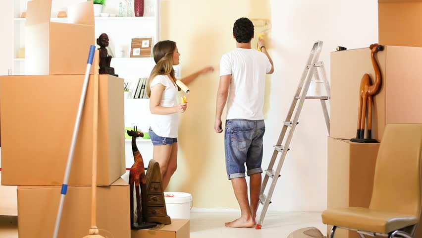 thợ sơn lại nhà cũ tại quận tân bình
