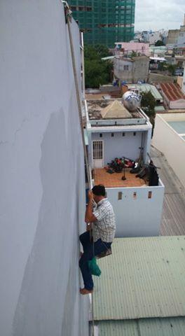 Dịch vụ chống thấm vách tường ngoài