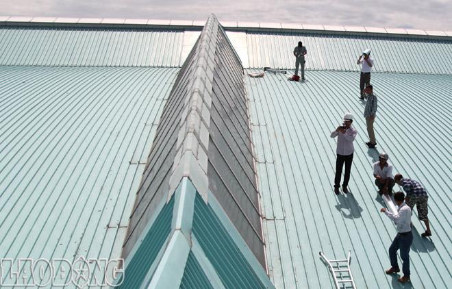 Dịch vụ lợp lại mái tôn quận Phú Nhuận