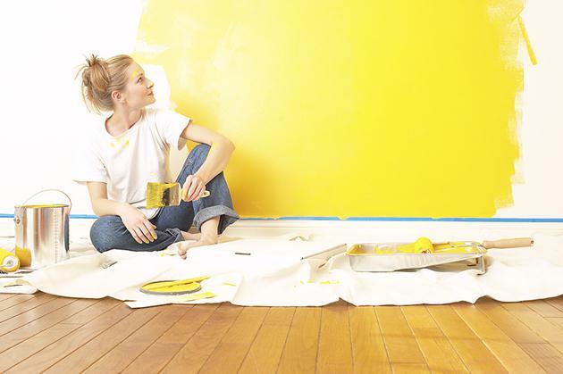 Thợ sơn lại nhà tại Biên Hòa