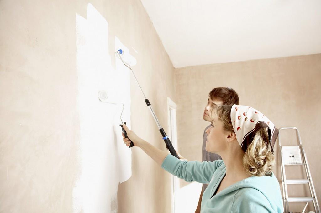 Dịch vụ sơn lại nhà Dĩ An