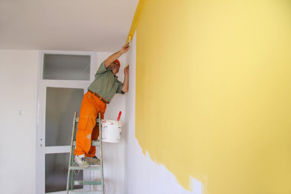 Thợ sơn lại nhà quận 9
