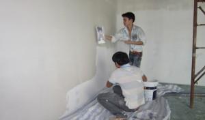 Dịch vụ sơn lại nhà quận 12