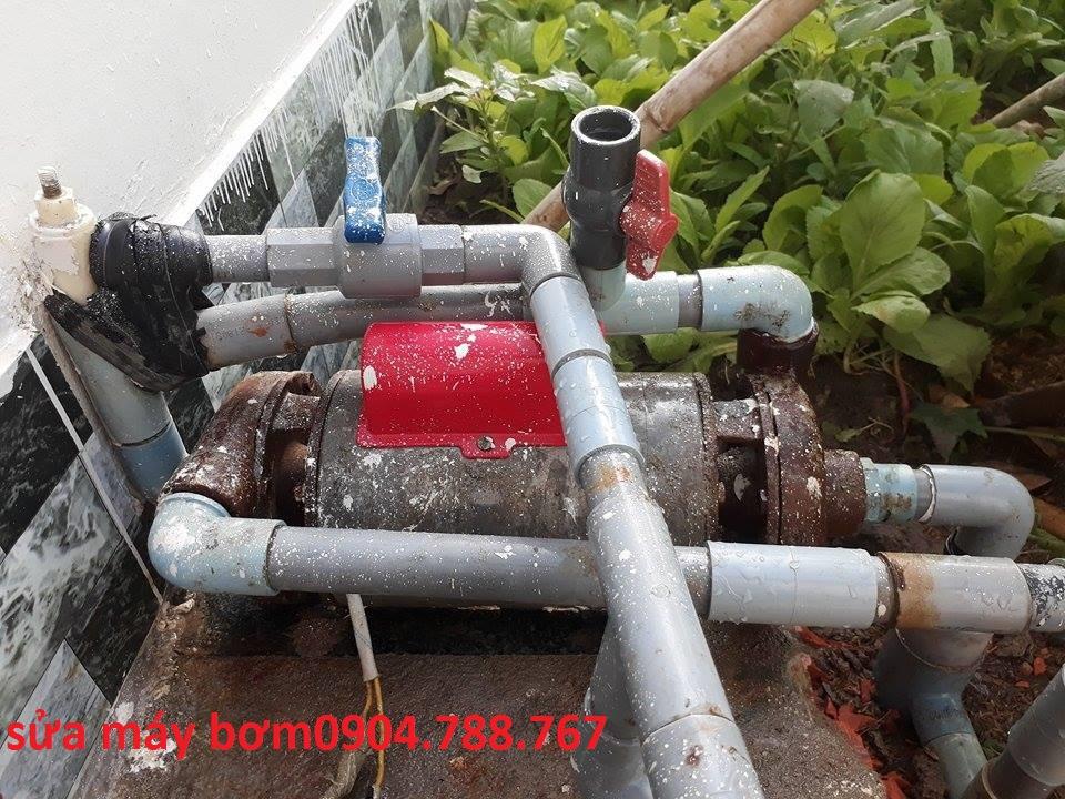 Thợ sửa máy bơm tại nhà tphcm