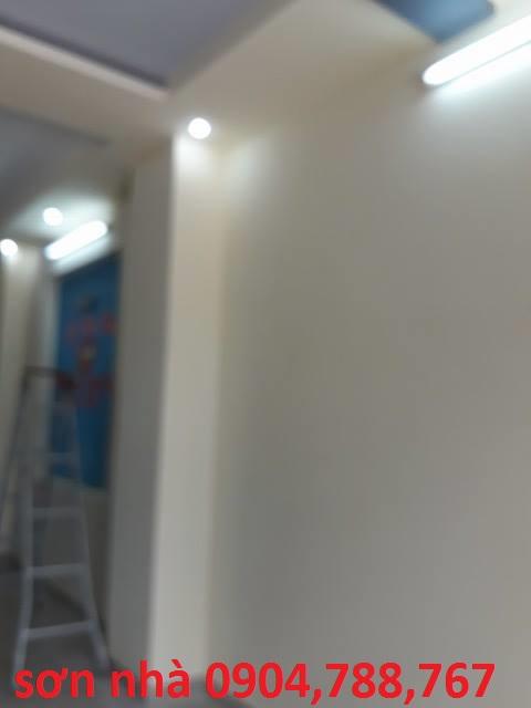 Thợ sơn sửa nhà bình dương