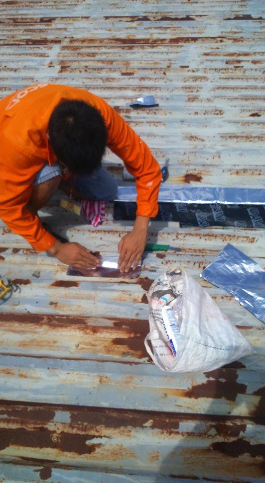Thợ chống thấm nhà chung cư