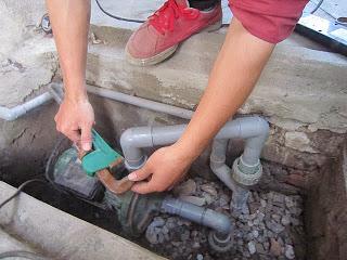 thợ sửa đường ống nước bình dương