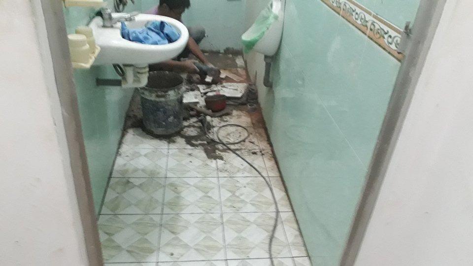 Thợ chống thấm nhà vệ sinh tại quận 4