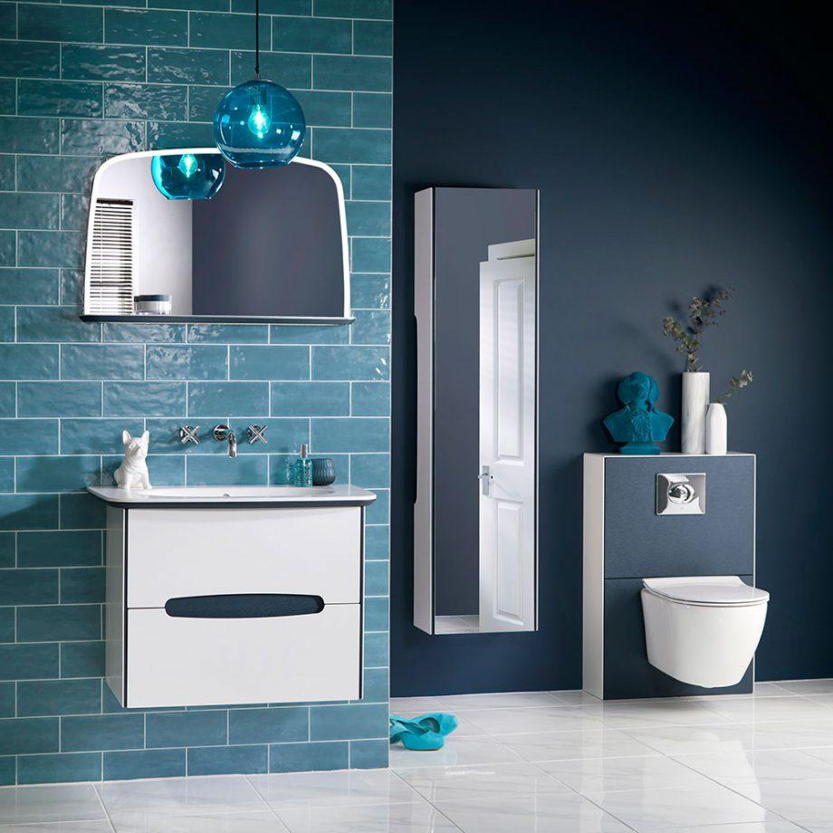 Thiết kế nhà vệ sinh đẹp, sang trọng